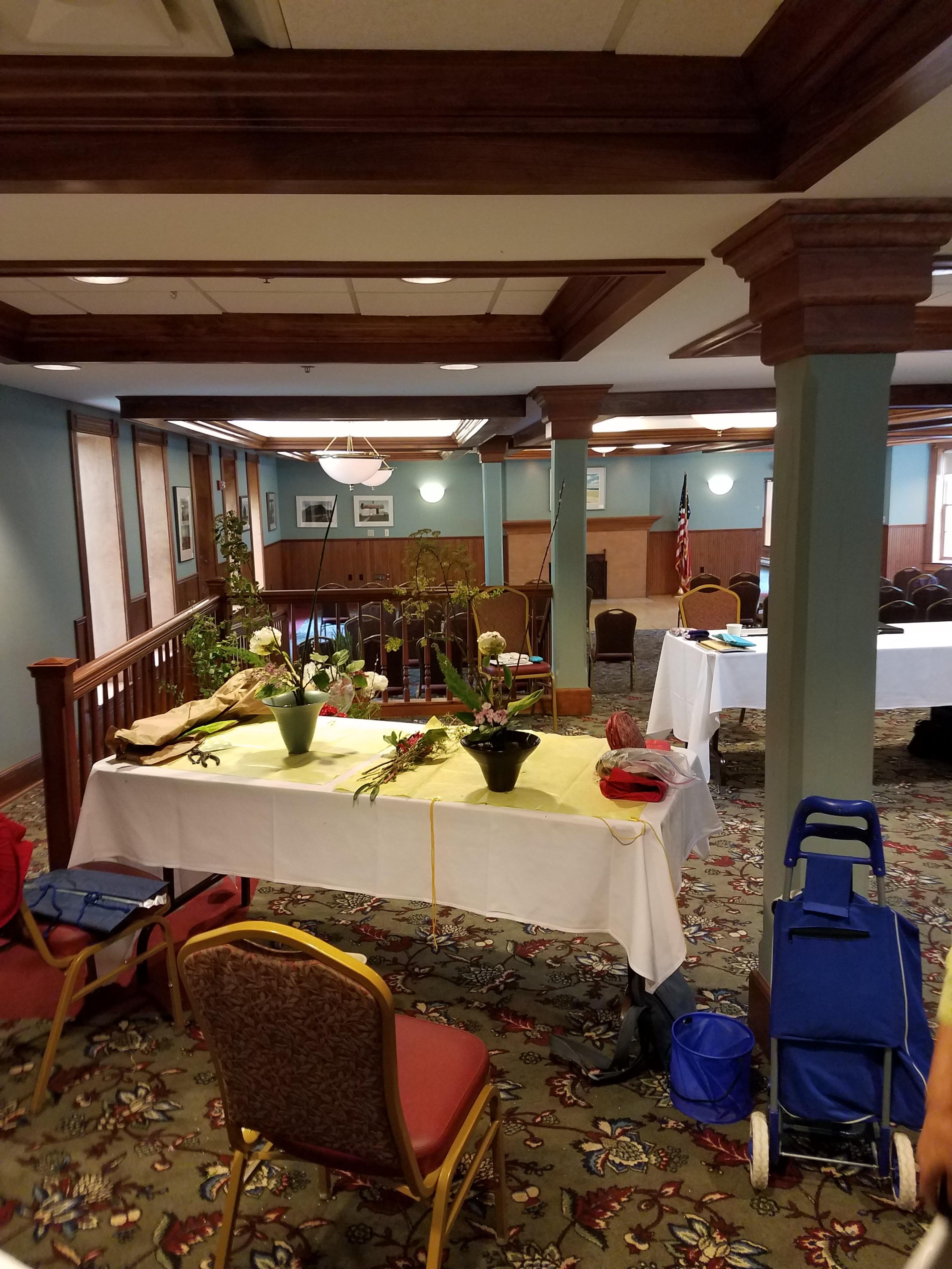 Professor mayumi chino rikka shimputai workshop 2017 - Chicago flower and garden show 2017 ...
